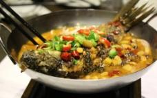干锅鲫鱼图片