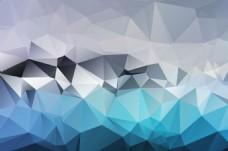 蓝色菱形背景图大格式素材