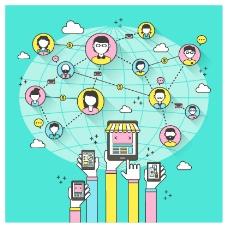 手机网络图