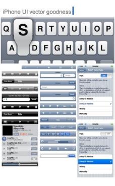 手机字母界面