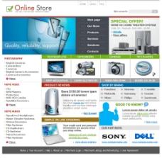 網站銷售設計網站模板圖片
