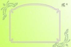 淡色花纹展板图片