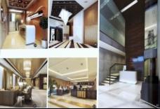 酒店场地设计模型