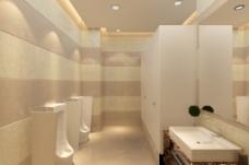 一套精美的卫生间效果图
