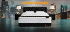 乳胶床垫图片