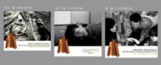 三幅小画面图片
