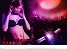 DJ海报图片