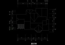 单体结构cad图纸