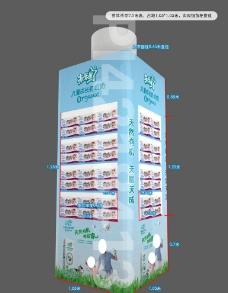 超市包柱造型图片