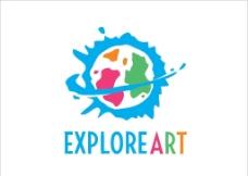 水彩logo图片