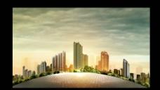 地产设计 城市拼图图片