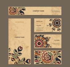商务名片卡片矢量设计素材图片