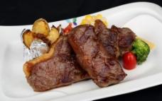 雪花牛肉纽西兰西冷图片