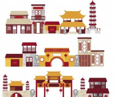 复古中国古建筑