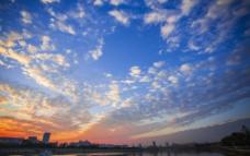 梅江落日图片