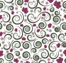 卷曲花纹底纹图片