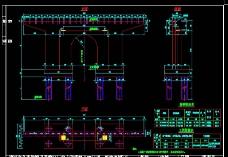 过渡墩一般构造图cad图纸