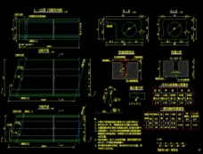 预制空心板一般构造cad图纸