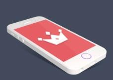 扁平手机展示图片