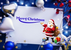 高清圣诞节PSD海报免费下载