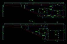节段构造图cad图纸