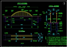 桥型图cad图纸