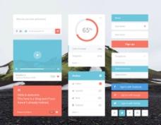 用户界面工具包UI kit图片
