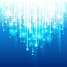 蓝色梦幻温馨背景图