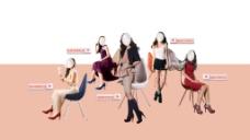 女鞋五大系列产品图