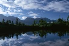 山川河湖图片