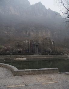 云台山冬景图片
