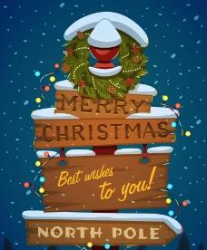 童趣圣诞挂牌图片