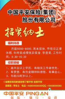 中国平安保险招聘图片