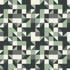个性三角菱形几何不规则民族图案