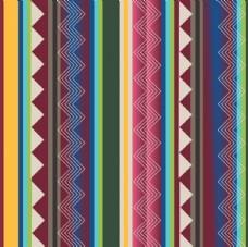 个性民族克西米亚条纹几何