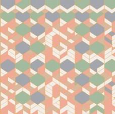 民族元素匹印底纹抽象几何