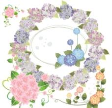 绣球花素材图片