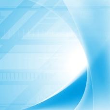 蓝色朦胧科技背景图