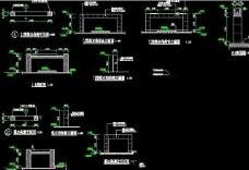 某公园景观水景CAD图纸节点详图