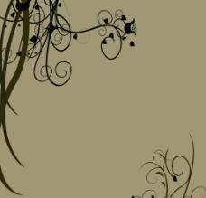 花纹背景墙图片
