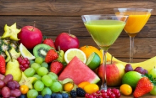 水果果汁图片
