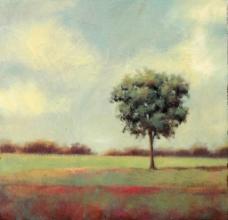 油画乡间田园图片