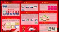 荣誉陈列室宣传栏图片