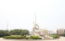 罗山县宝城广场图片