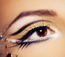 唯美眼妆图片
