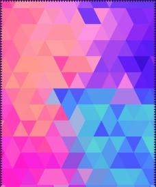 多彩格子背景图片