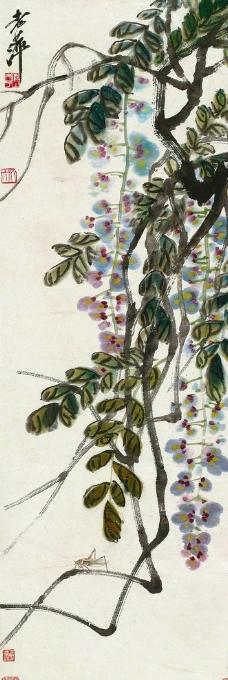 静物水果图片,亚瑟布鲁内尔德讷维尔 法国画家 葡萄