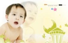 儿童成长记忆相册模板图片