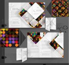 矢量宣传手册设计图