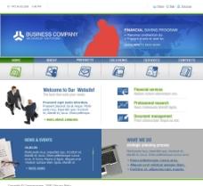 国外企业站 设计素材图片